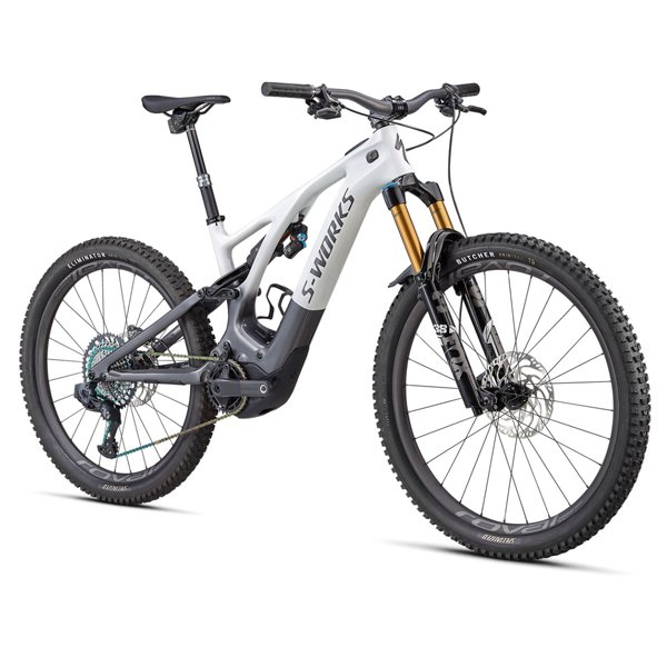 Bici MTB Elettrica Specialized S-Works Turbo Levo 2022 Bianca c