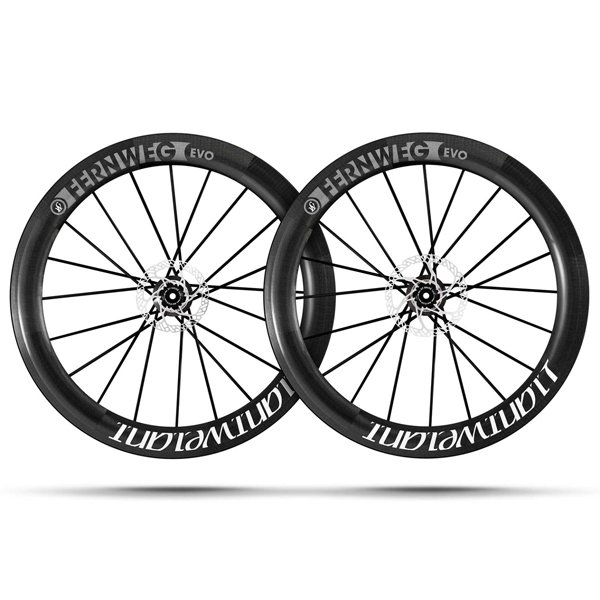 Ruote Bici Da Corsa Lightweight Ferweg EVO 63 Disc